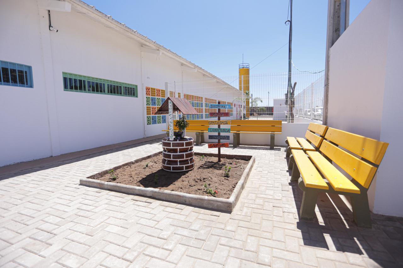 Prefeitura inaugura nova escola de tempo integral na zona Sul de Teresina (Foto: Rômulo Piauilino / Semcom)