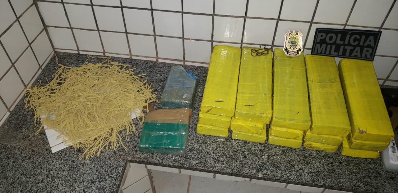 Grupo é preso por roubo, tráfico de drogas e porte de armas no Sul do Piauí