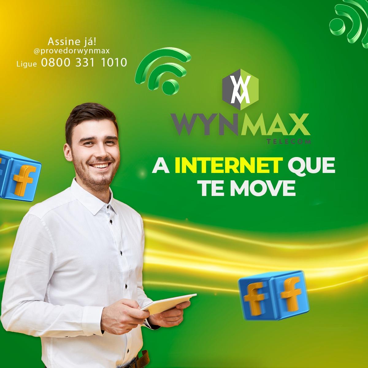 Assine já a melhor internet de Inhuma- wynmax telecom - Imagem 3