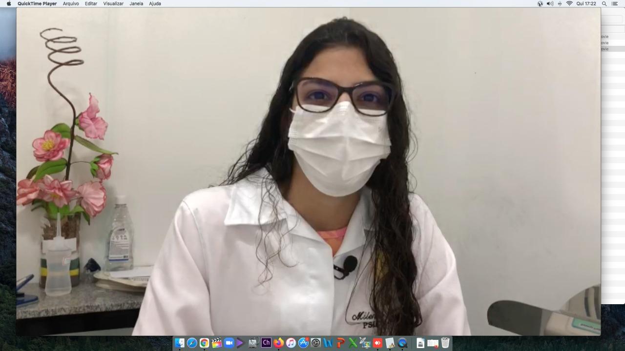 Milena destaca o fomento ao aleitamento materno-Divulgação
