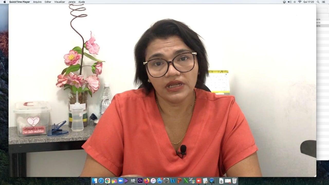 Vanessa Paz diz que principal função dos bancos de leites é o acolhimento-Divulgação