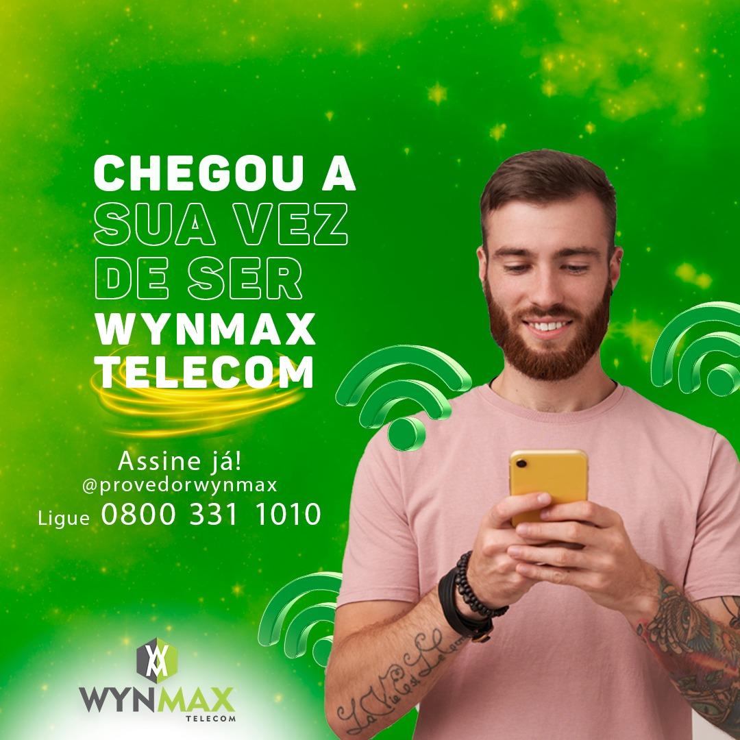 Assine já a melhor internet de Inhuma- wynmax telecom - Imagem 1