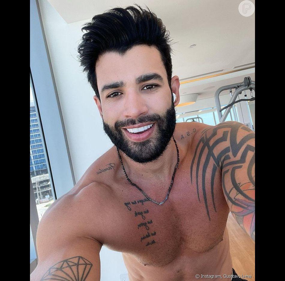 Gusttavo Lima arraanca suspiro das fãs. (Foto: Instagram Gusttavo Lima)