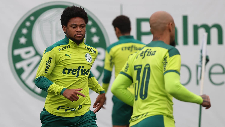 Treino do elenco palmeirense (César Greco/Ag. Palmeiras)