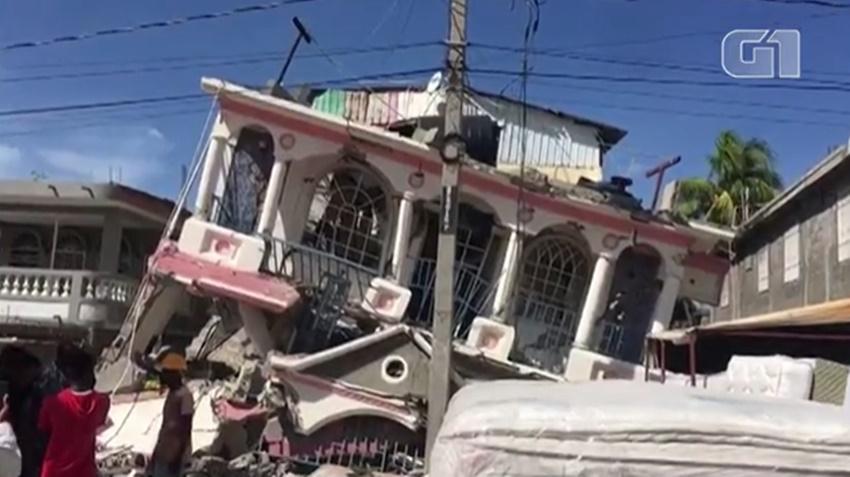 O primeiro-ministro do Haiti, Ariel Henry, decretou estado de emergência por 30 dias - Imagem: Reprodução/G1