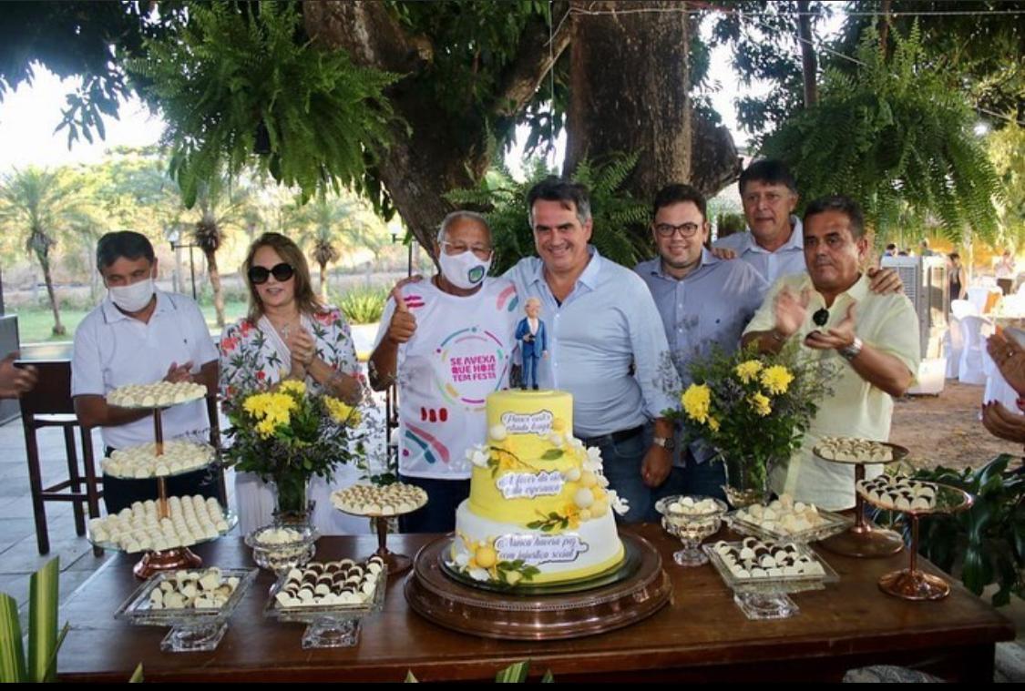 Bastidores do encontro de Ciro e Dias no prestigiado aniversário de Pessoa - Imagem 1