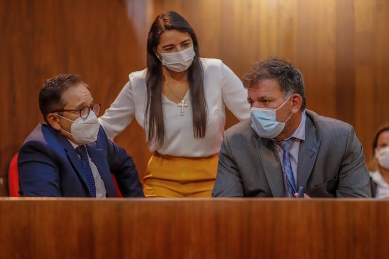 Deputado Carlos Augusto pede apoio de parlamenares para implantar IML em Picos (Thiago Amaral)