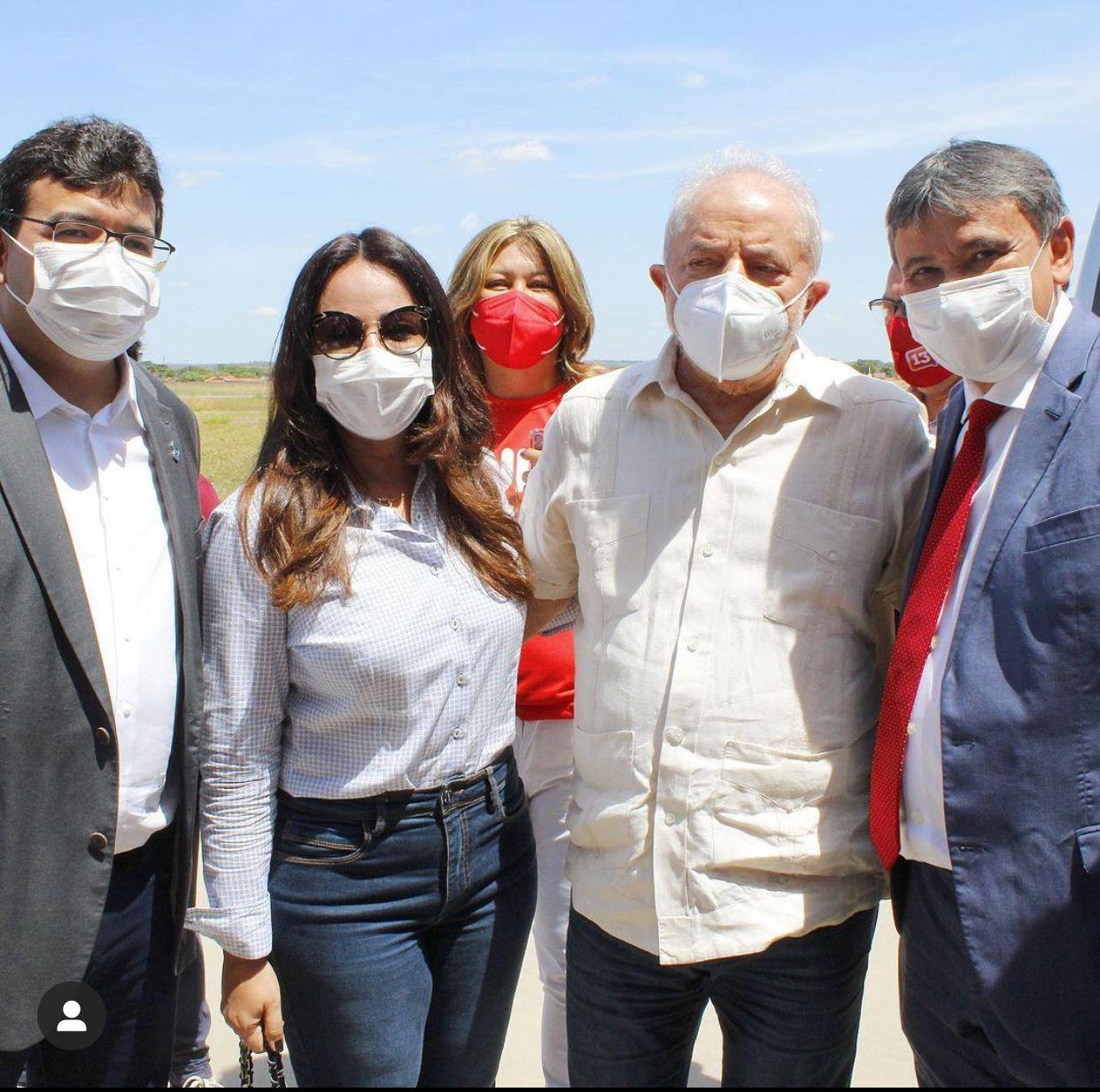 Lula chega em Teresina e é recebido por políticos piauienses - Foto: Reprodução