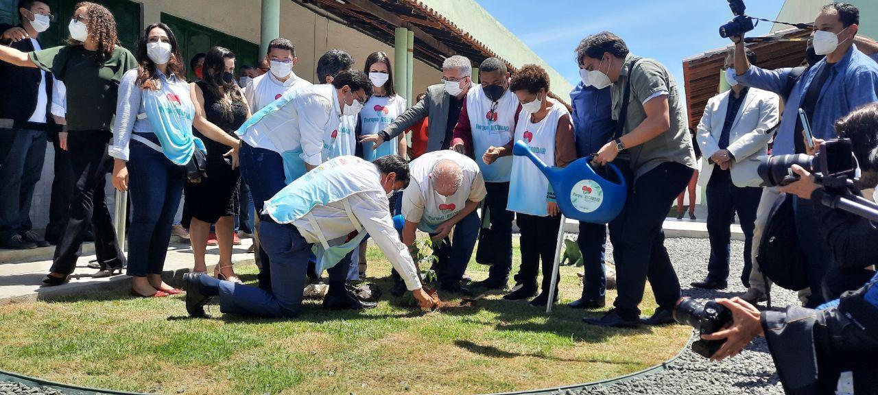 Lula homenageia vítimas da Covid-19 no Piauí (Foto: PT Brasil)