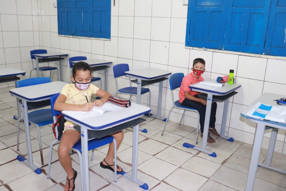 Secretaria de Educação realizou a prova do SAEPI para Alunos do 2º Ano - Imagem 5