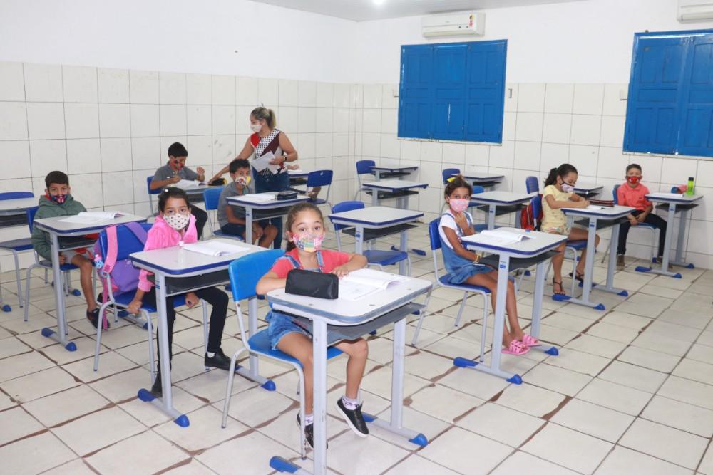 Secretaria de Educação realizou a prova do SAEPI para Alunos do 2º Ano - Imagem 1
