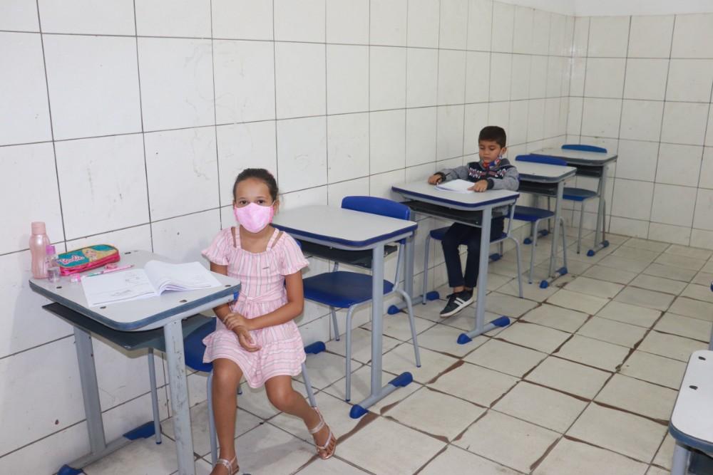 Secretaria de Educação realizou a prova do SAEPI para Alunos do 2º Ano - Imagem 6