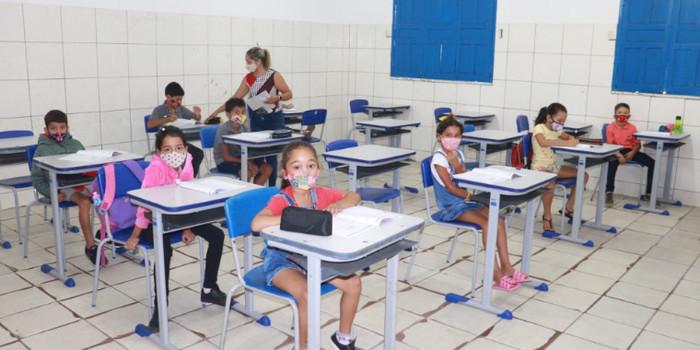 Secretaria de Educação realizou a prova do SAEPI para Alunos do 2º Ano