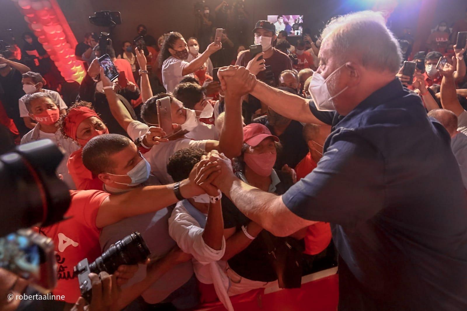 Segundo dia de Lula no Piauí começa com juristas e termina com almoço com empresários