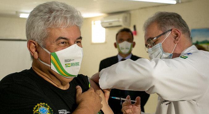 Marcos Pontes falou sobre estudos da vacina SpiNTec. (Foto: Divulgação - Ministério da Saúde)