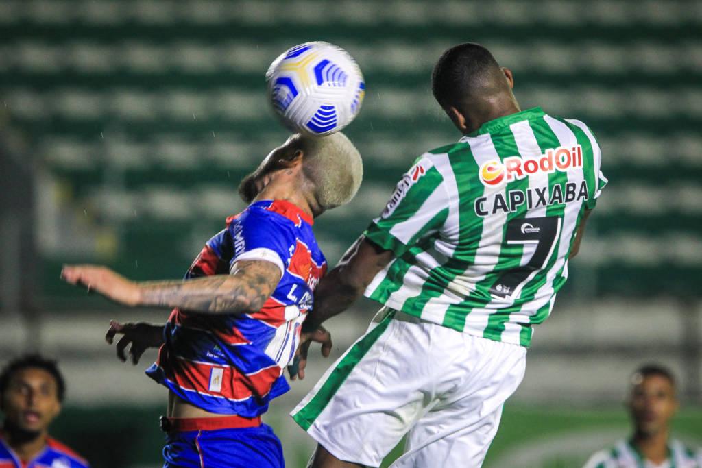 Fortaleza e Juventude empataram em 1 a 1 Foto: Fernando AlvesFortaleza e Juventude empataram em 1 a 1 Foto: Fernando Alves