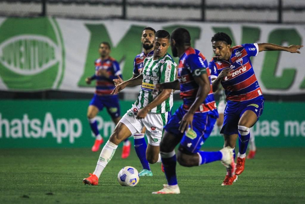 Fortaleza e Juventude empataram em 1 a 1 Foto: Fernando Alves