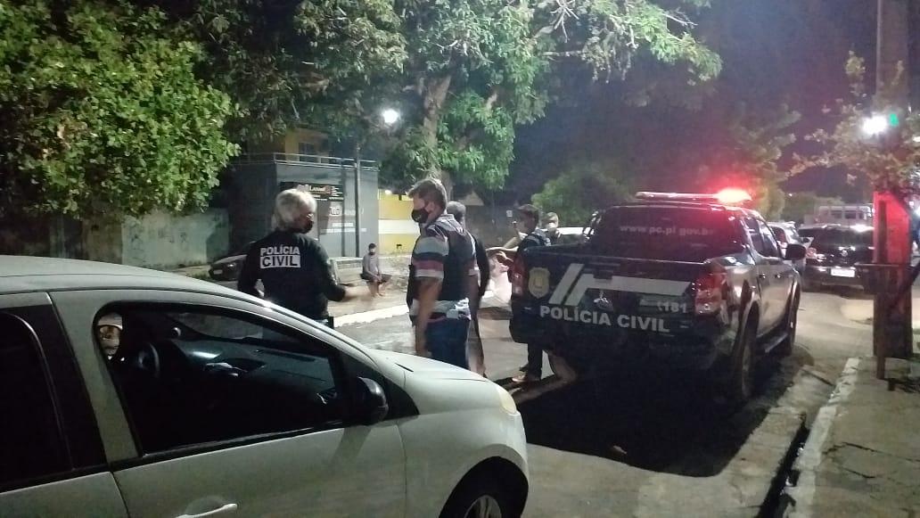 Policiais em ação na Operação Fechado II para combate ao crime.(Foto: Divulgação)