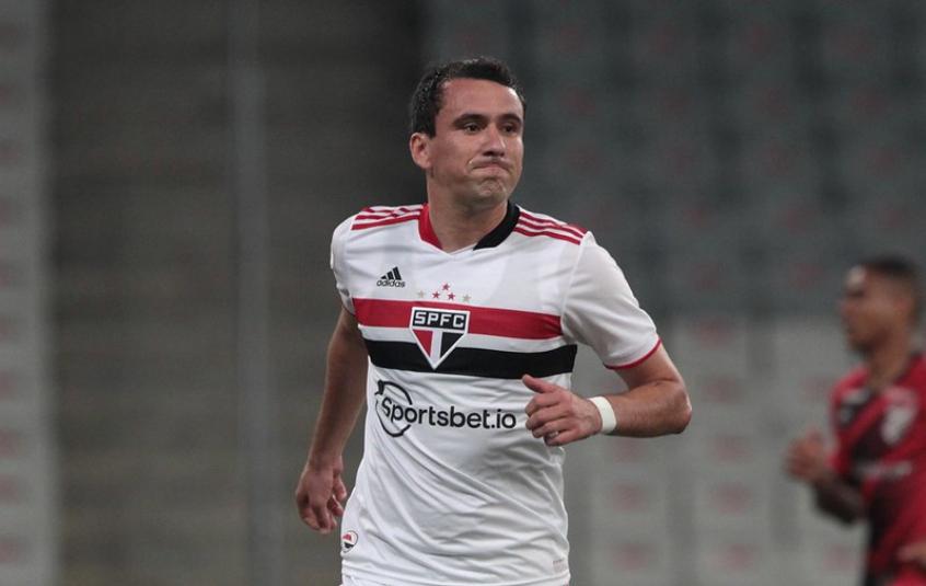 Pablo marcou o gol da vitória do São Paulo sobre o Sport (Foto: Rubens Chiri/saopaulofc.net)