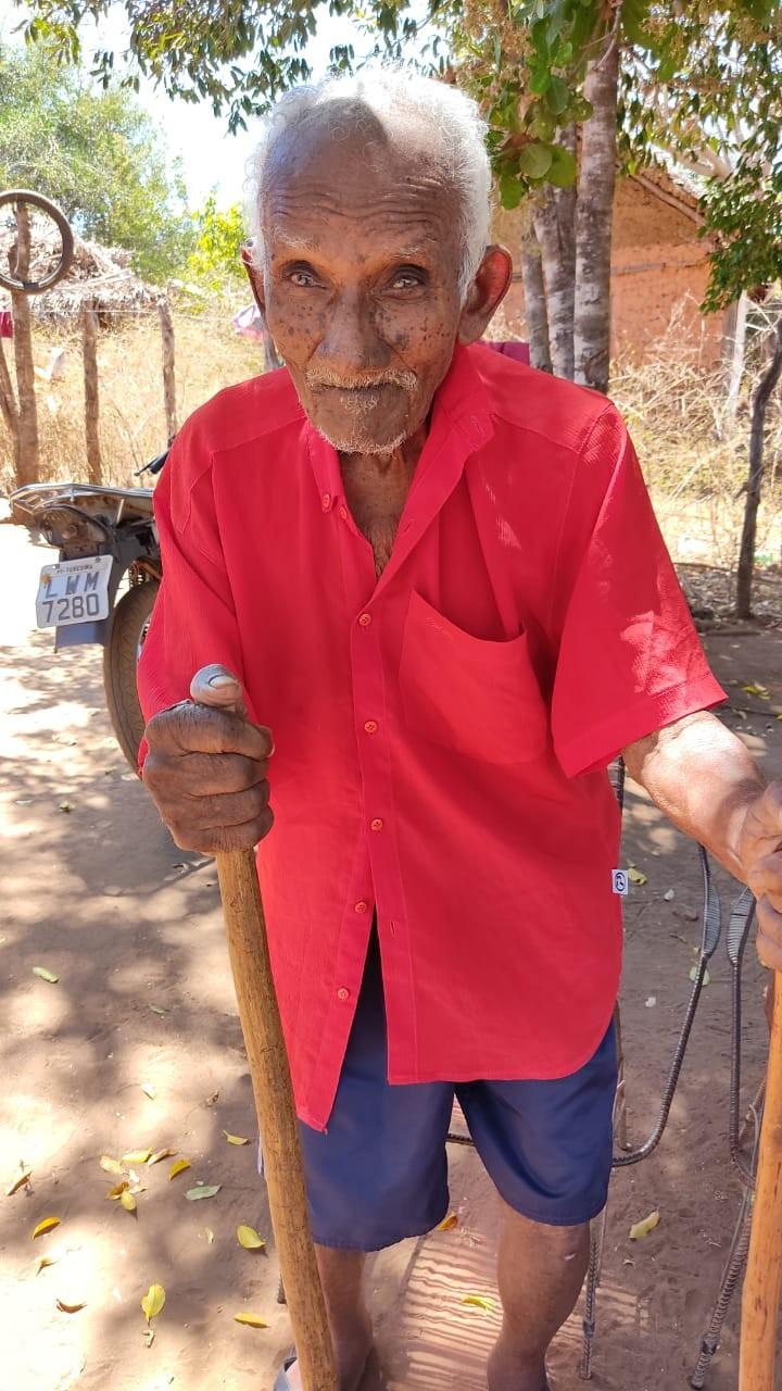 Teodoro nasceu em 1900 e completará 121 anos em outubro (Foto: Reprodução)
