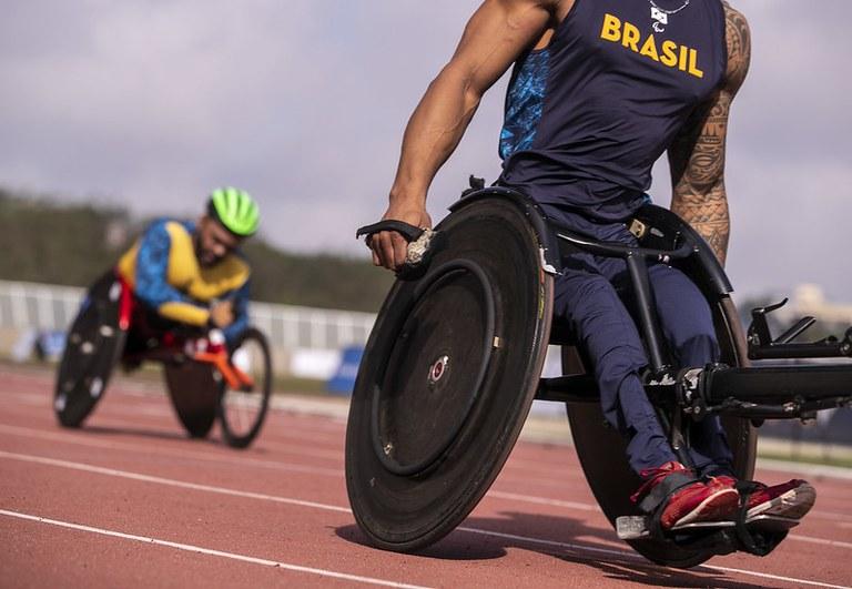 Atletismo em cadeira de rodas é uma das modalidades com brasileiros em Tóquio   FOTO: Ale Cabral/CPB