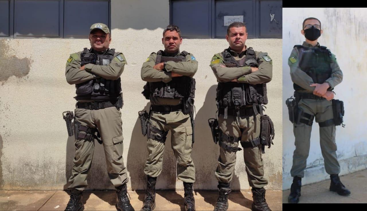 PM de Acauã participou da prisão do suspeito