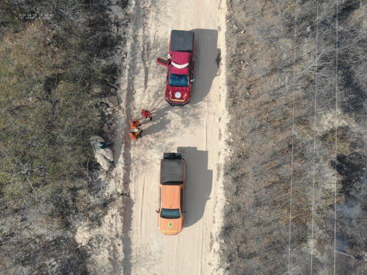 A recomendação para a população em geral é a de cautela quando da realização de queimadas - Foto: Ascom