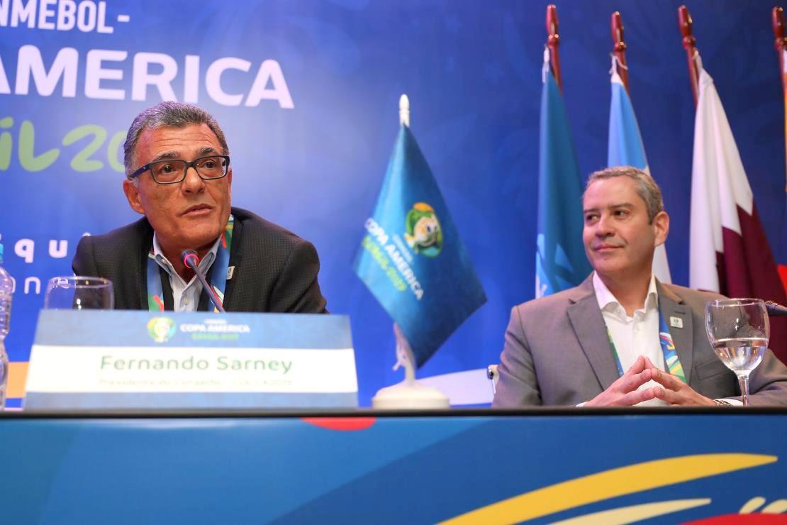 Fernando Sarney é o nome mais forte para presidir a CBF Foto: Lucas Figueiredo