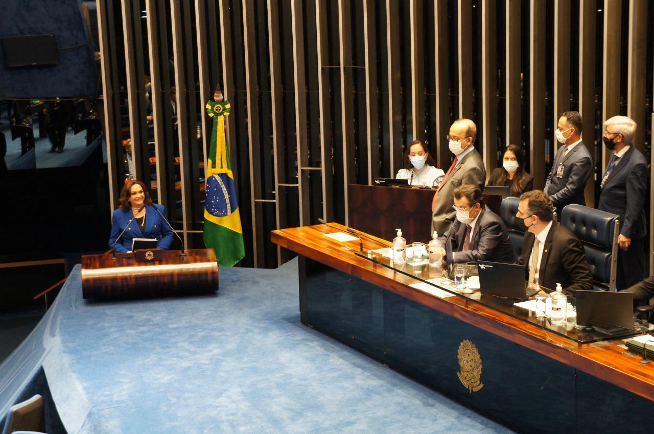 Embora esteja assumindo o exercício de seu primeiro cargo político, para Eliane Nogueira, isso não significa inexperiência política - Foto: Ascom