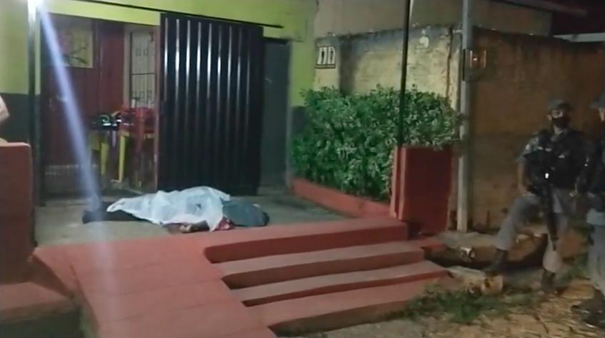 Homem foi morto em frente a bar em Timon