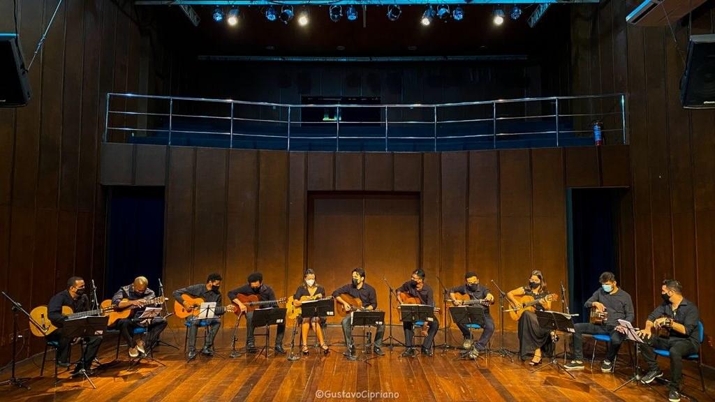 Festival de Violões de Teresina vai até domingo (Foto: Gustavo Cipriano)