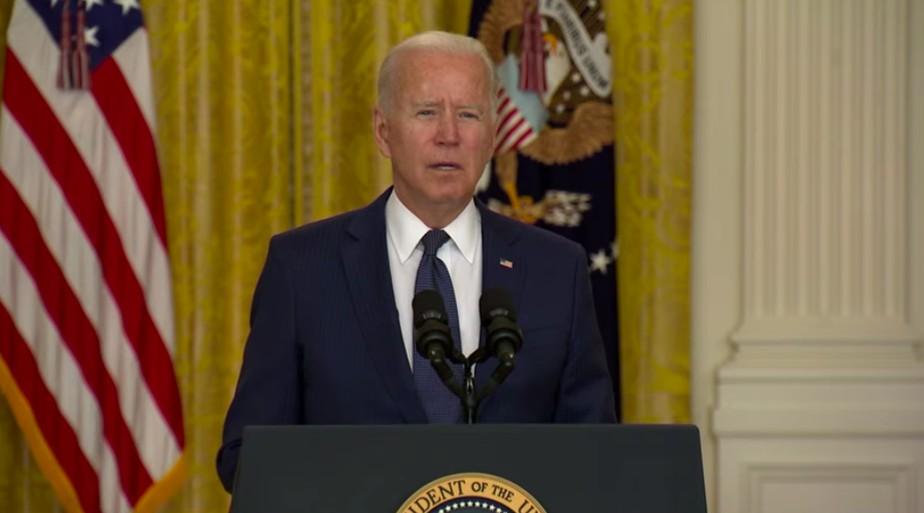 Presidente dos EUA. Joe Biden fala sobre atentado em Cabul