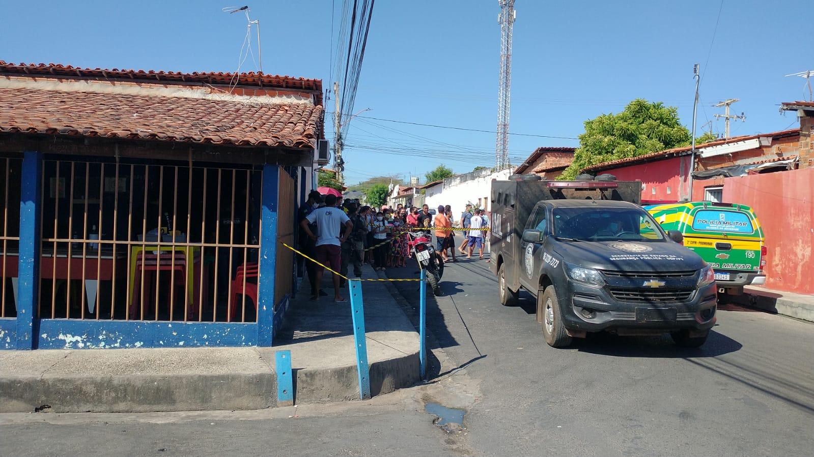 Crime ocorreu no Bar do Joel, em Teresina - Foto: Kilson Dione/Portal MN