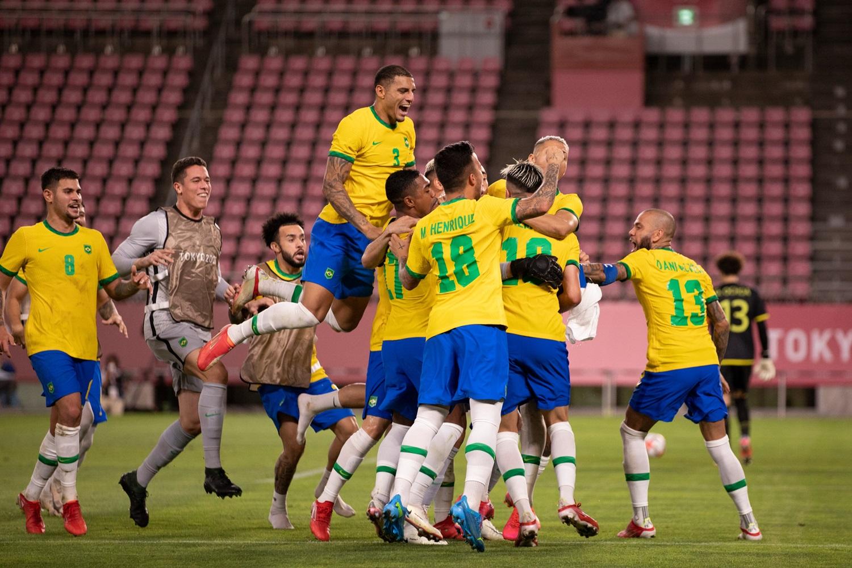 Brasil conseguiu se classificar após o jogo no tempo normal não sair do 0 x 0 - Foto: Lucas Figueiredo/CBF