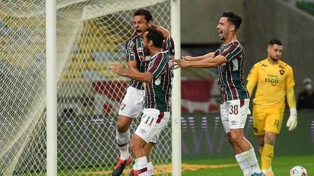 Fluminense está nas quartas de final da Libertadores Foto: Alexandre Durão
