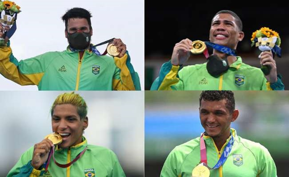 Nordeste obteve mais medalhas de ouro do que o país Brasil nas Olimpíadas - Foto: Reprodução