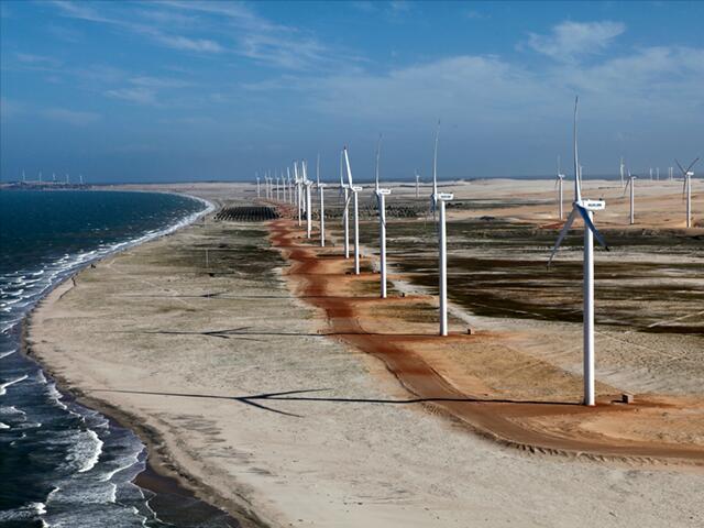 Produção de energia eólica no Nordeste vai compensar escassez de Sul e Sudeste - Foto: Reprodução