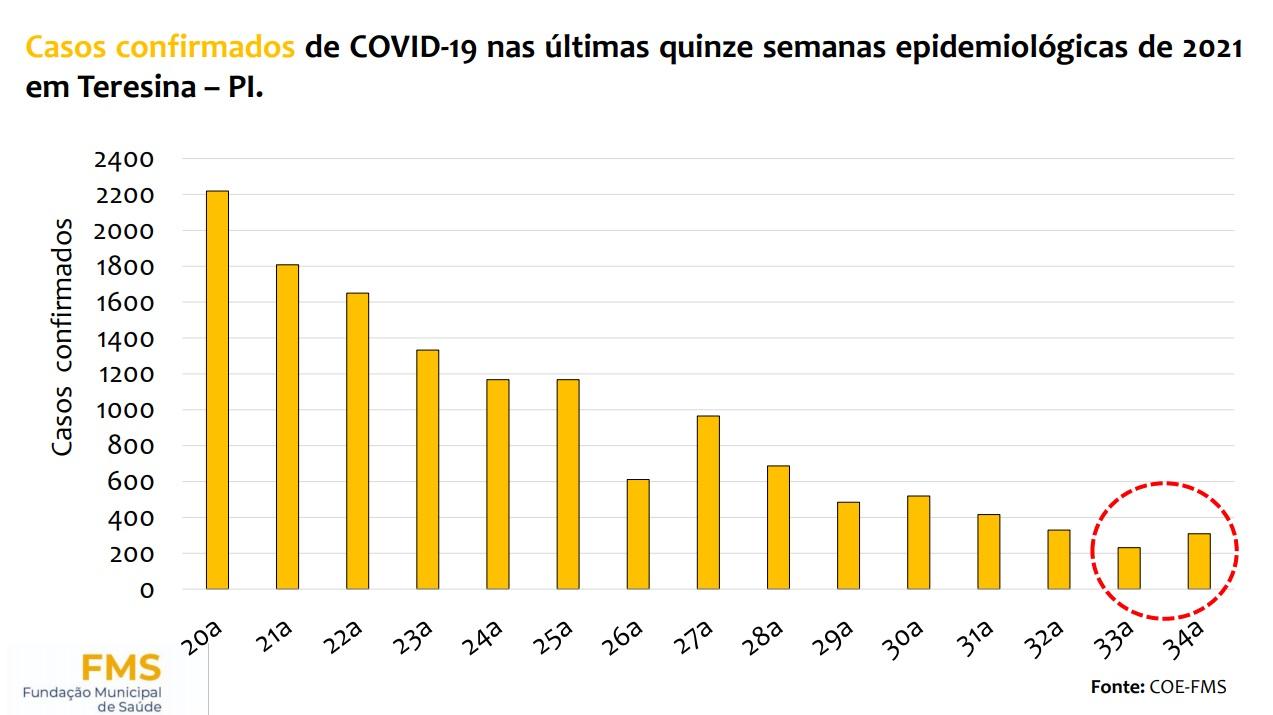 COE alerta para aumento de casos de Covid-19 em Teresina - Imagem 2