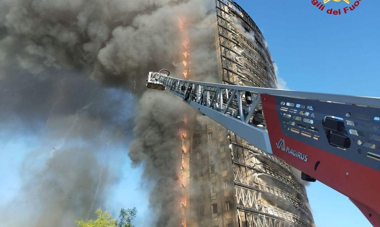 Foto: Vigili del Fuoco / Folheto via REUTERS Internacional