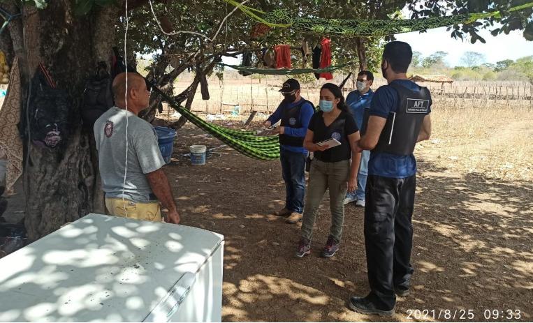 Trabalhadores são encontrados em situação análoga à escravidão no Piauí