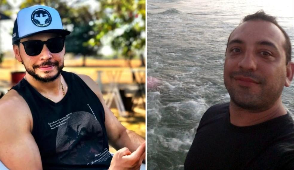 Márcio e Renato morreram durante o ataque as agências bancárias