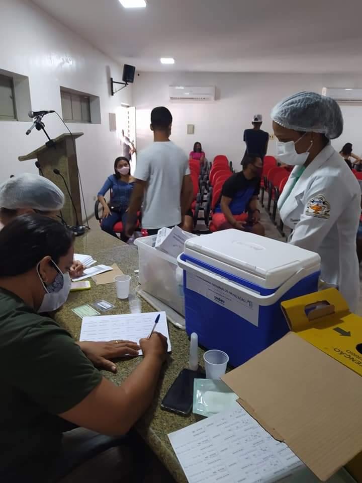 Juventude de Monsenhor Gil diz sim a vacina contra a Covid-19 - Imagem 7