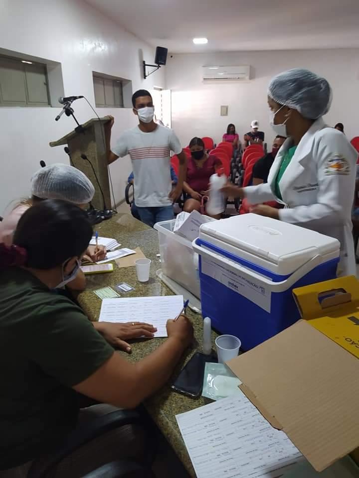 Juventude de Monsenhor Gil diz sim a vacina contra a Covid-19 - Imagem 4