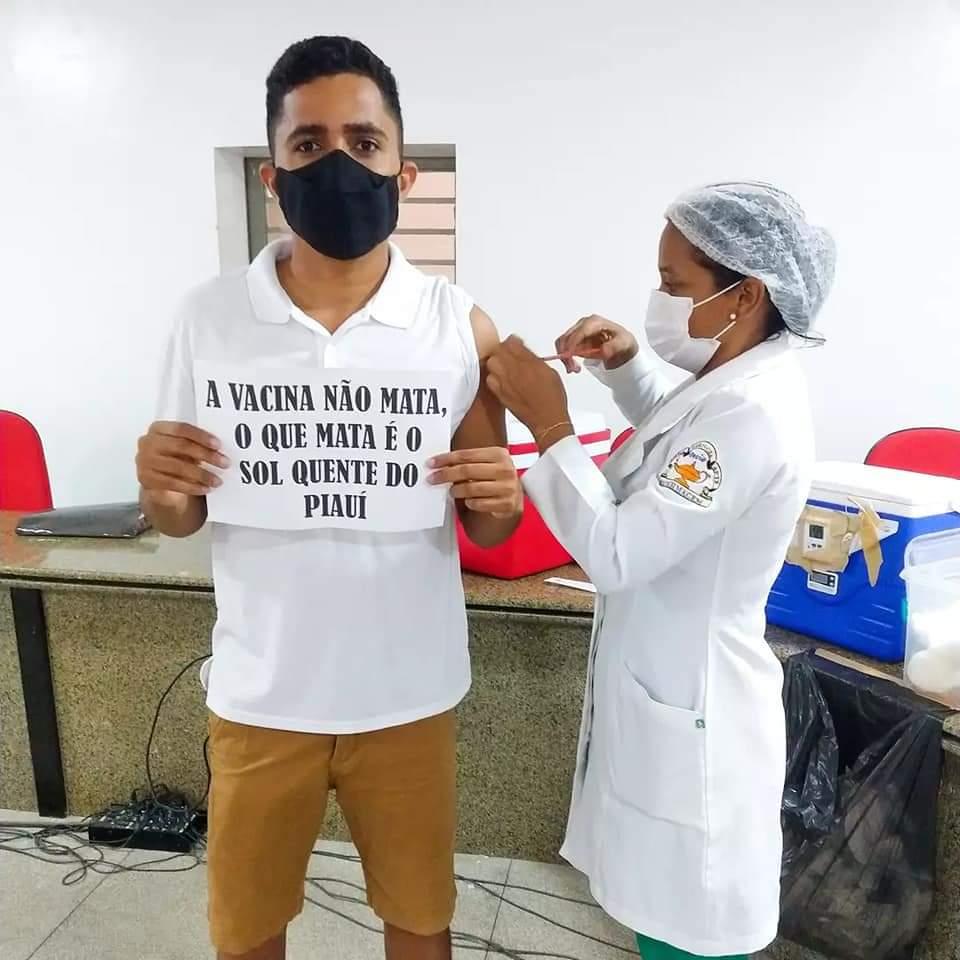 Juventude de Monsenhor Gil diz sim a vacina contra a Covid-19 - Imagem 5