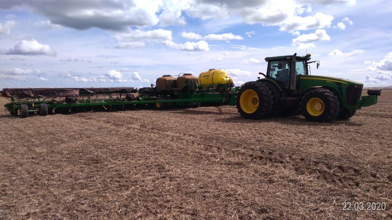 Fazendas do Piauí começam a operam com 4G tratores e outras máquinas (Foto: Divulgação)