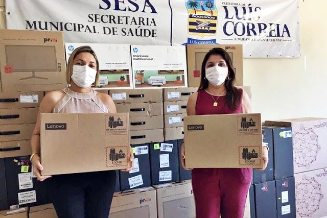 Rede de Informatização da Saúde é lançado em Luís Correia - Imagem 1