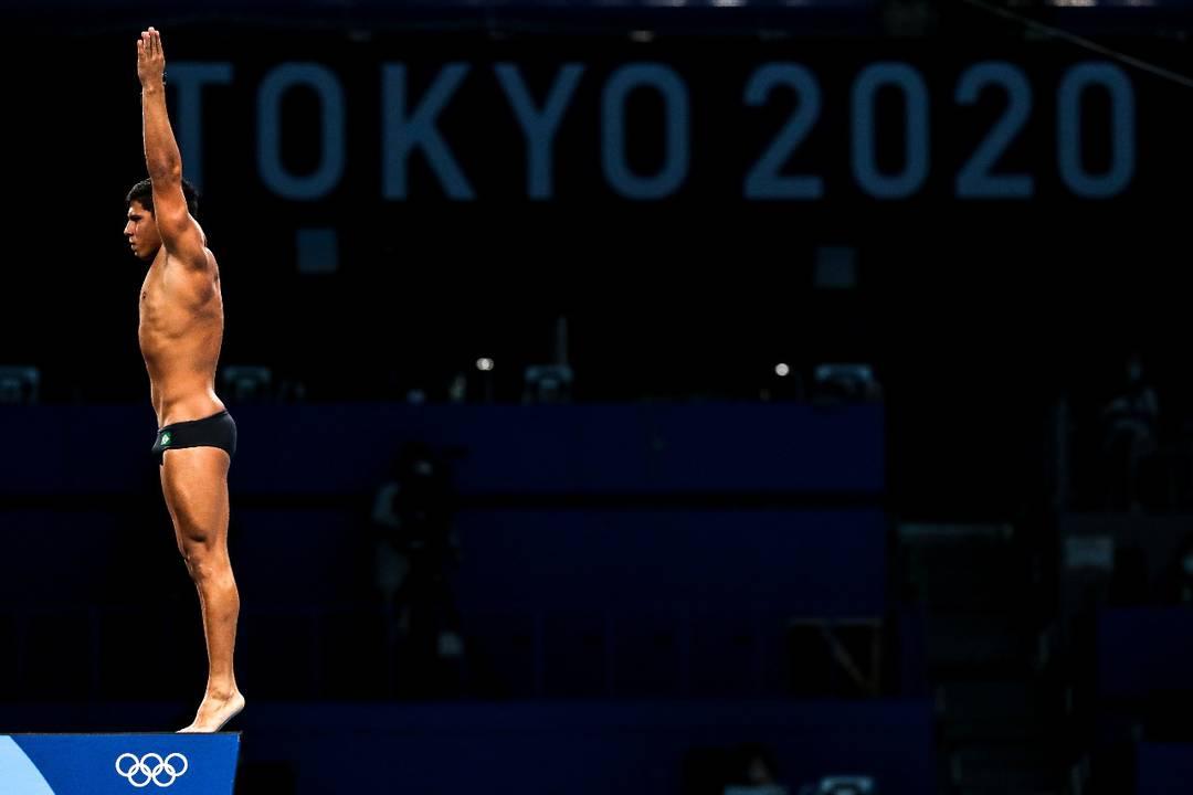 Kawan Pereira saltos ornamentais Tóquio 2020 (Foto: Wander Roberto/COB)