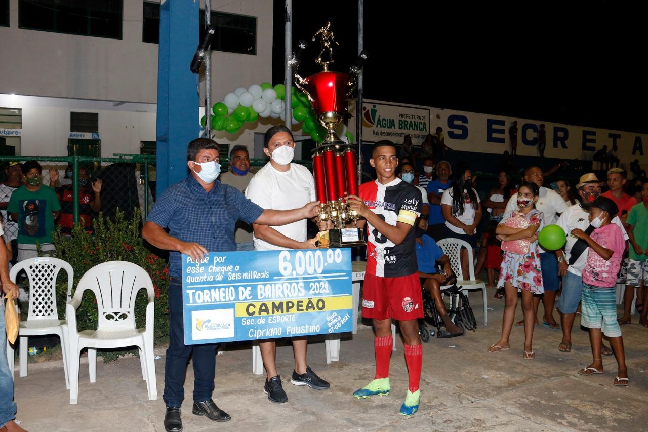 Final do Torneio de Bairros de Água Branca, mais de 13 mil em prêmios - Imagem 2