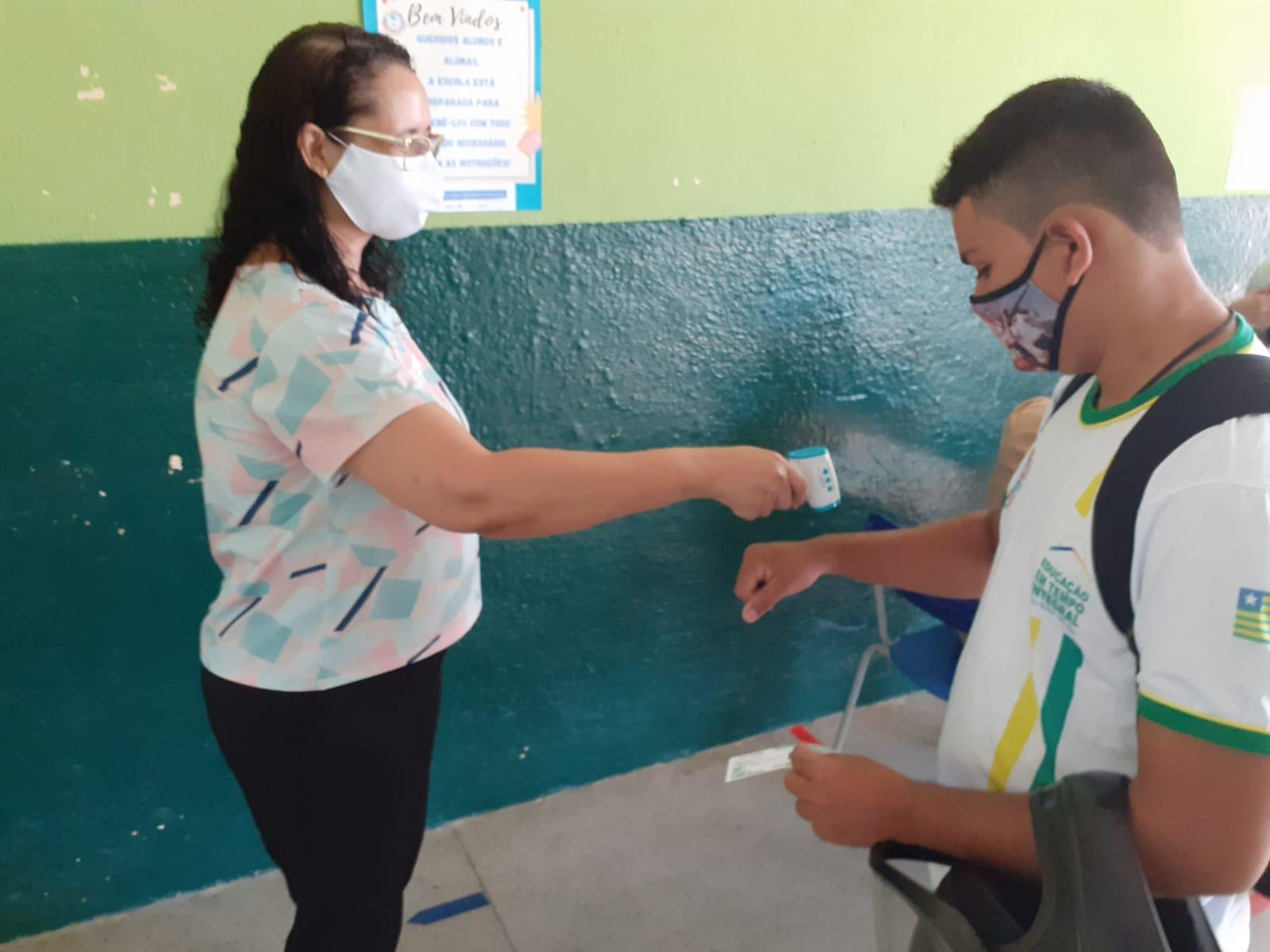 As equipes e as salas de aula foram adaptadas para essa nova realidade na reabertura - Foto: Divulgação