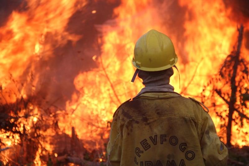 Foram estabelecidas diretrizes para atuação em ações de prevenção, controle e combate aos incêndios florestais - Foto: IBAMA